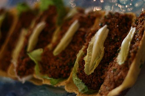 kısır in tacos